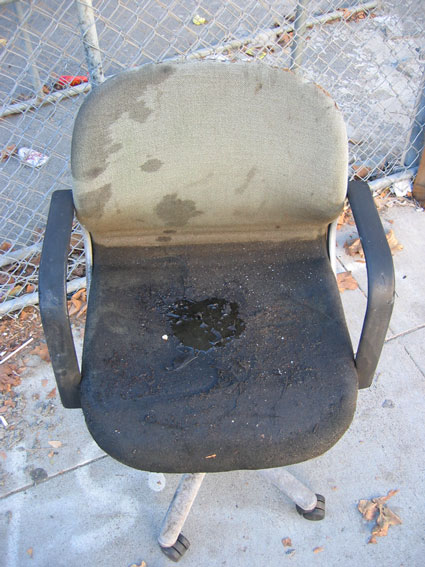 Vomit Chairs And Fat People