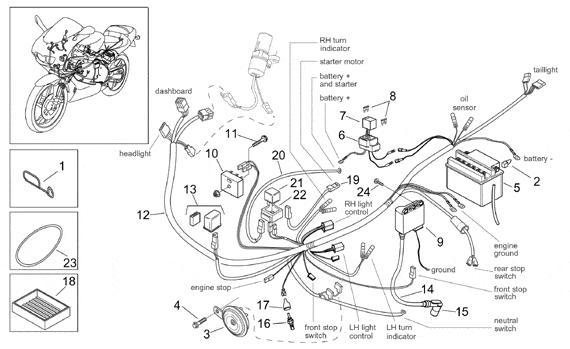 Front brake lever sensor failing