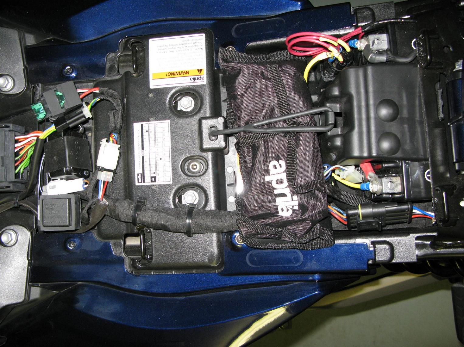 [DIAGRAM_3US]  Relay/Fuses location picture needed | Aprilia Fuse Box |  | Aprilia Forum