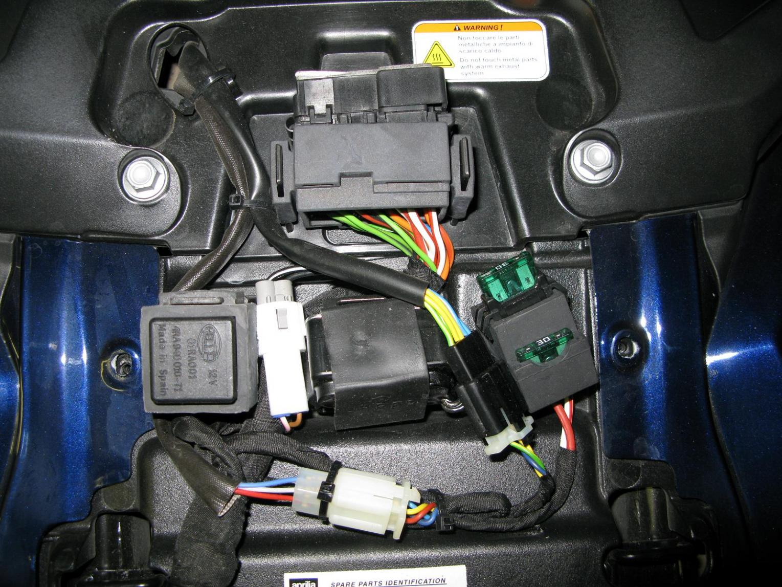 [DIAGRAM_38IU]  Relay/Fuses location picture needed | Aprilia Fuse Box |  | Aprilia Forum