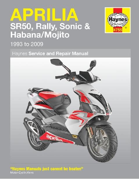 Haynes Sr50 Service Manual