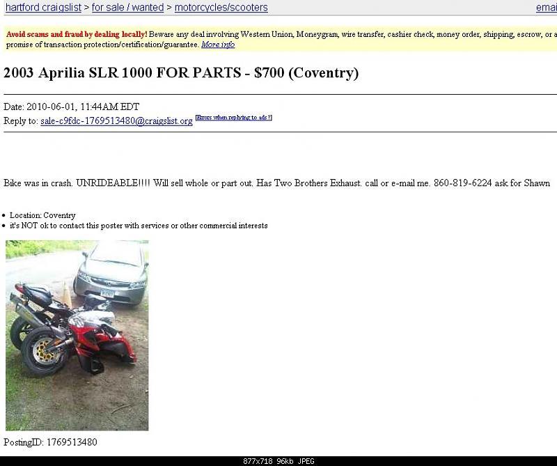 Craigslist/eBay Bikes Of Note!