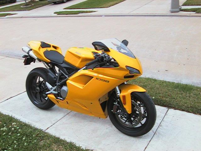 Ducati 1098 for Aprilia 250?