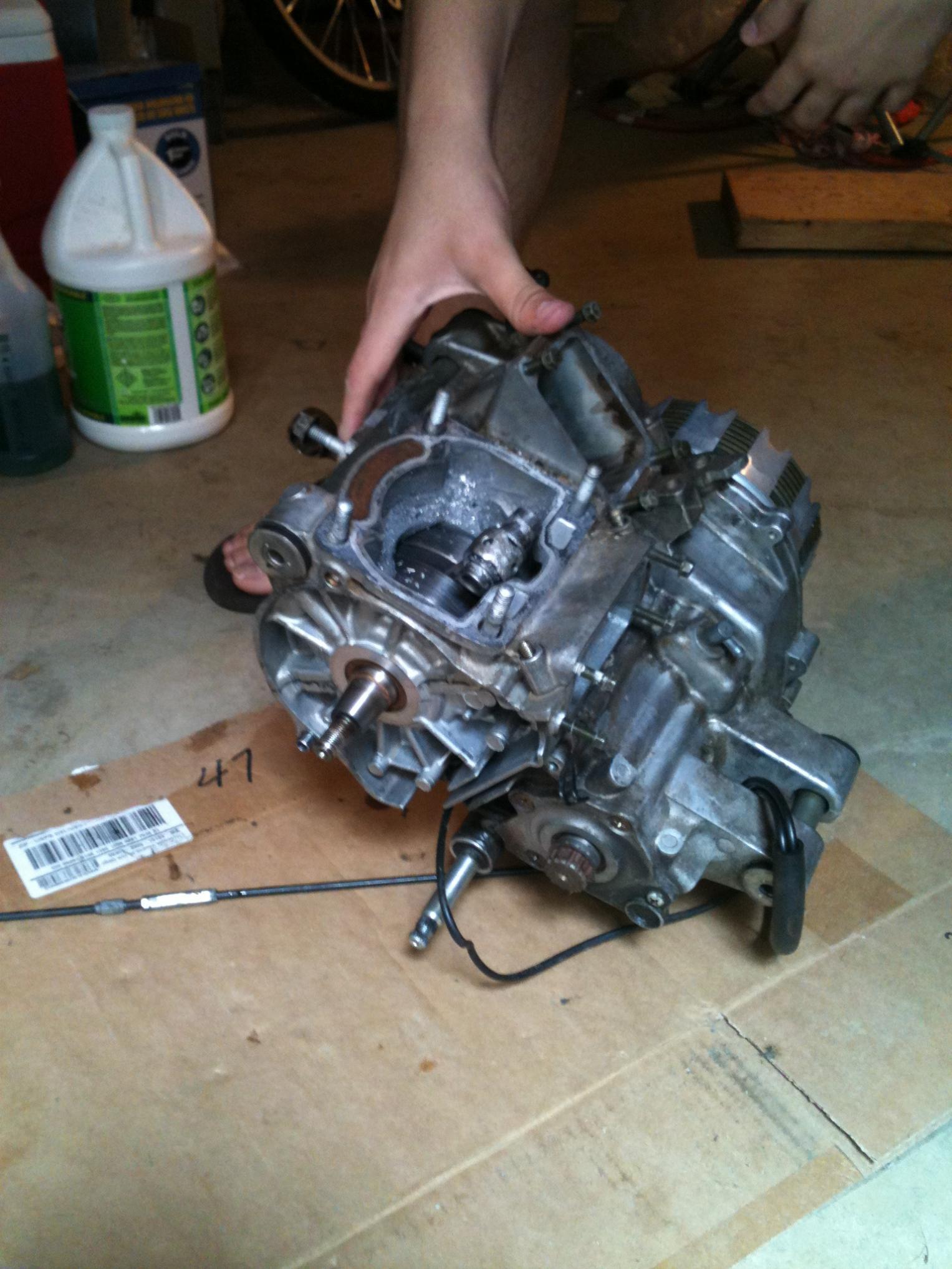 Aprilia rs 250 transmission for sale