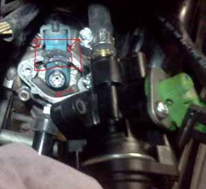 2002 Sr50 Ditech With Air Injector Problem