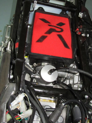 Derestricting the rs 125