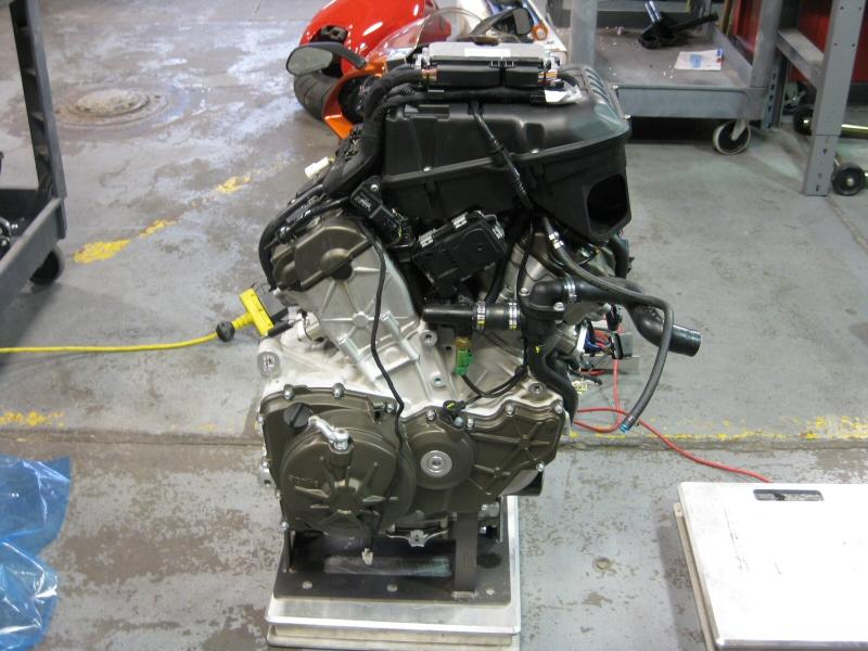 RSV4 Engine Weight?