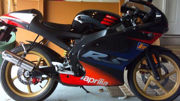 2003 Aprilia RS50 Customizations.