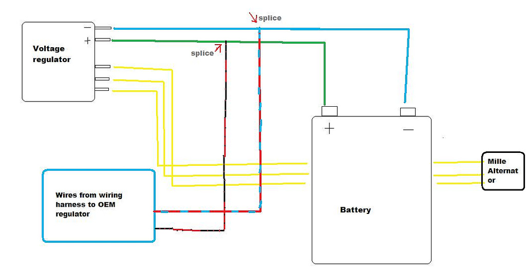 4 wire rectifier wiring diagram system 4 wire speaker