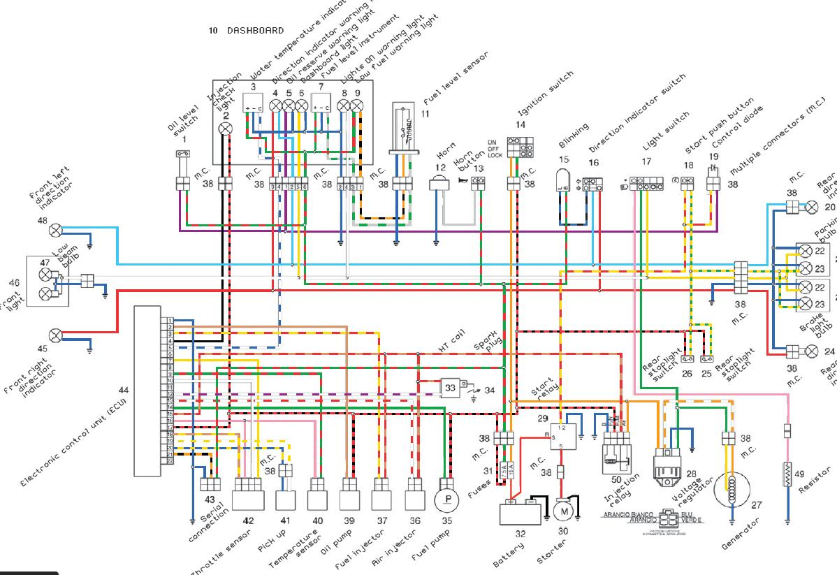50 Wiring Diagram Yamaha Ty Gibson S 1995 Scooter Schematic Amp Kymco Wire Home Theater Or Ceiling