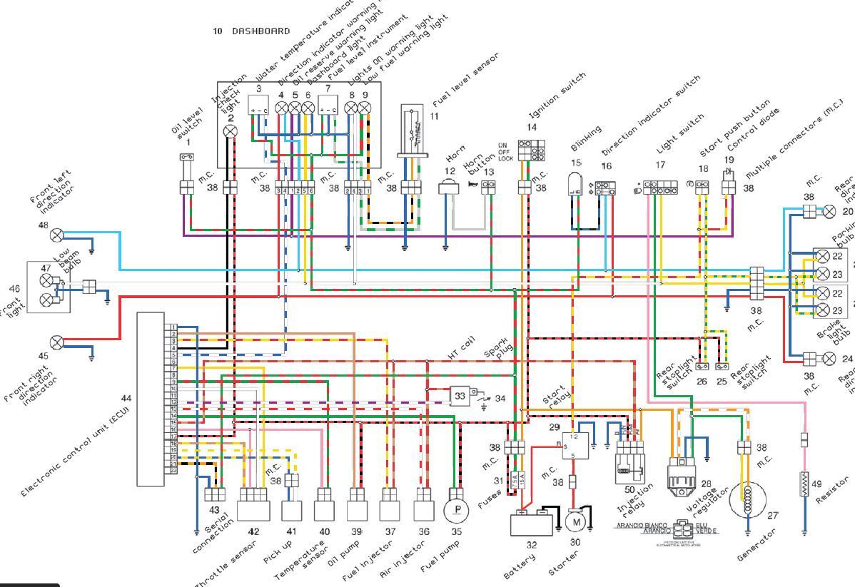 hyosung wiring diagram
