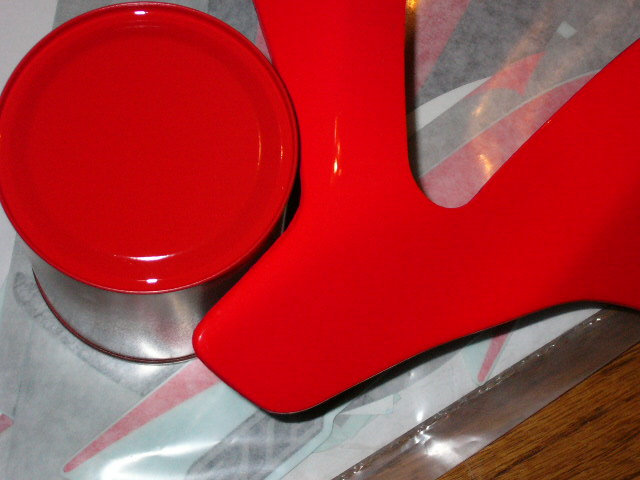 Ducati   Red Paint Code