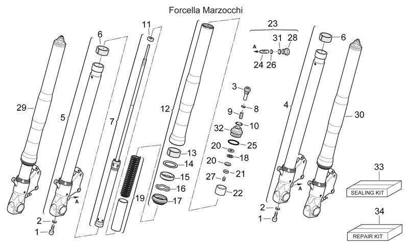 [Help] 04 Falco Showa fork Oil Seals & Dust Seals kits