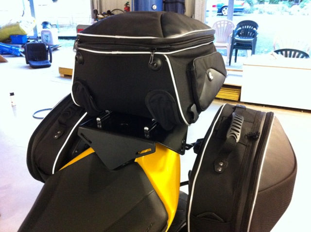 Luggage Installation Hepco Amp Becker System