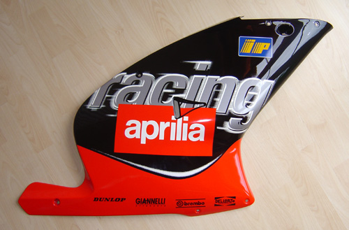 Aprilia Fairings Stickers