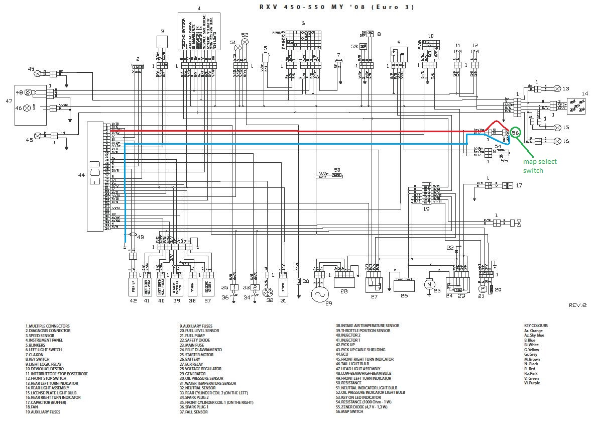 aprilia tuono wiring diagram aprilia superbike wiring