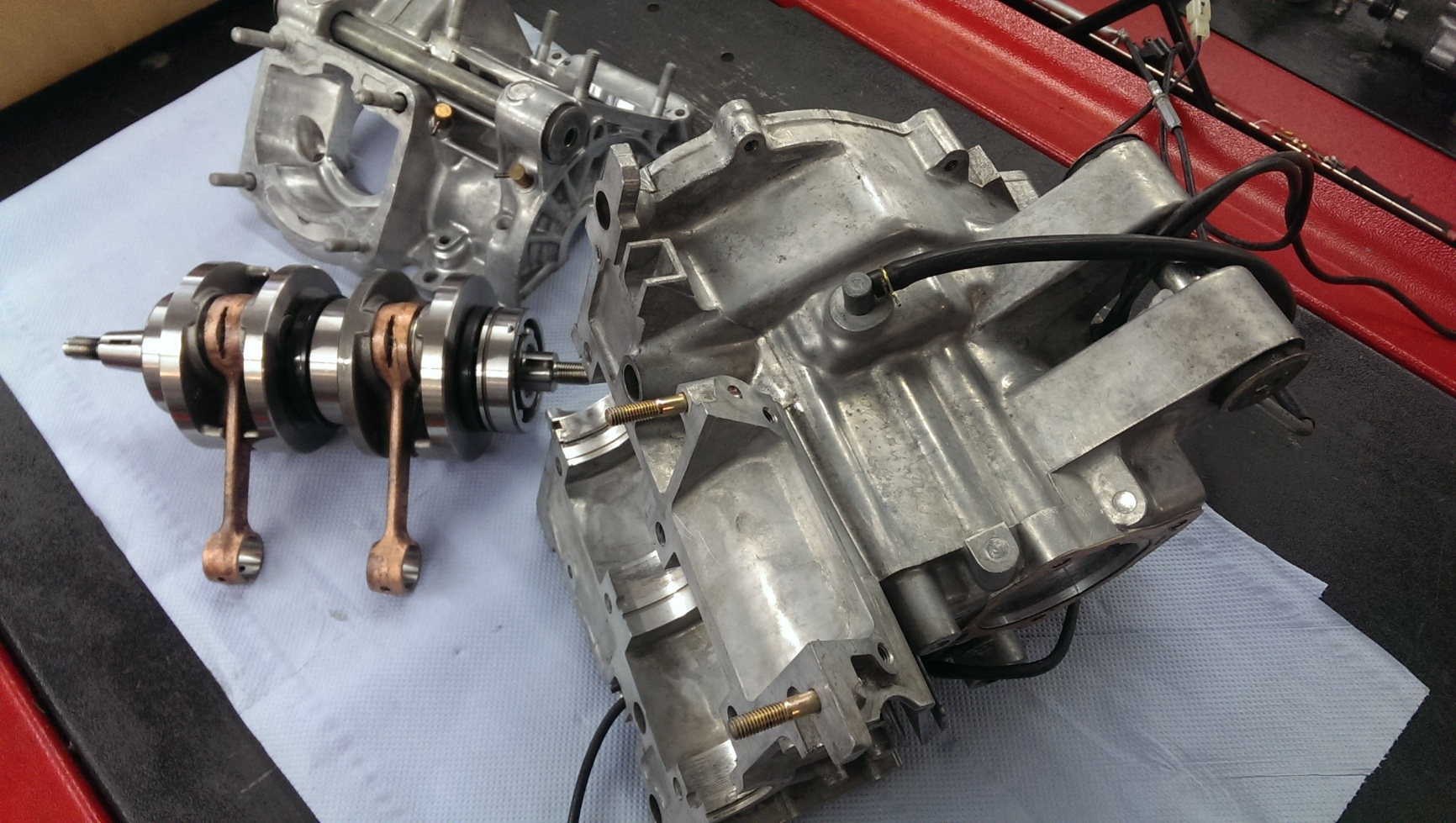 RS 250 Engine Rebuild and full Overhaul