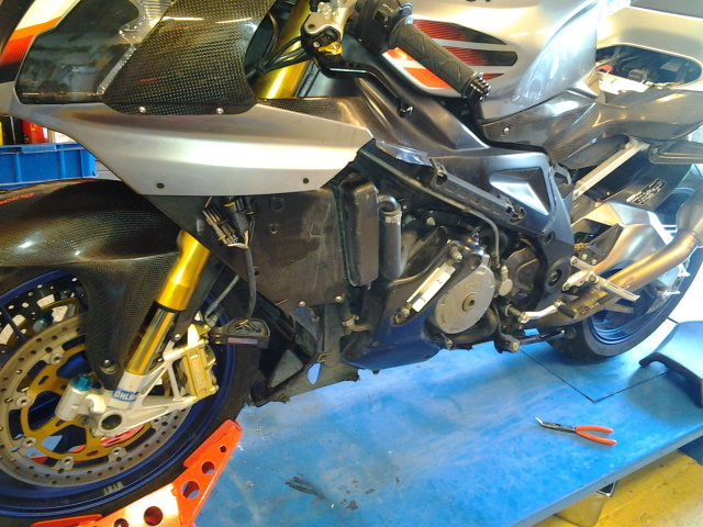 RSV Immobilizer issue, engine won`t stop