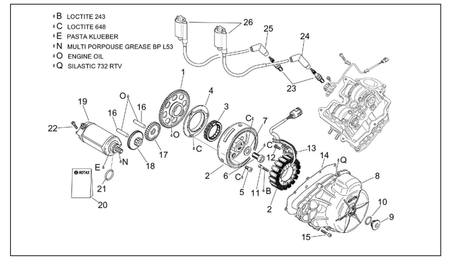 knocking rsv motor