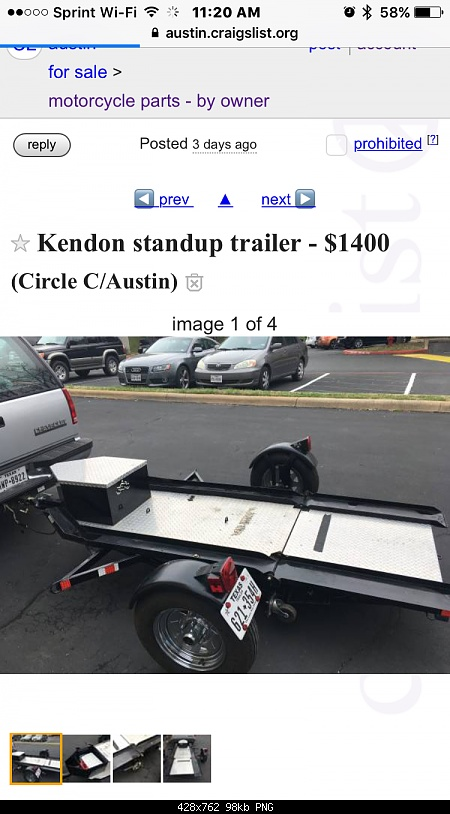Craigslist Motorcycle Trailers For Sale on