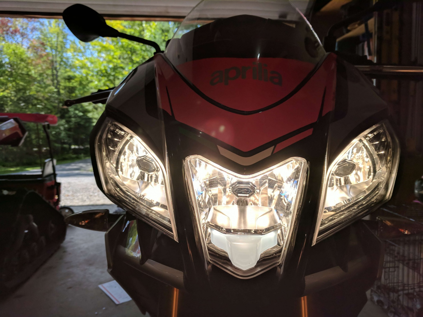 Tuono 1100 Led Headlight Mod