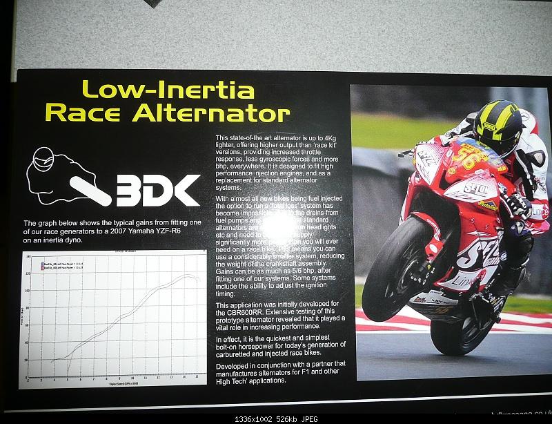 BDK Racing Alternator