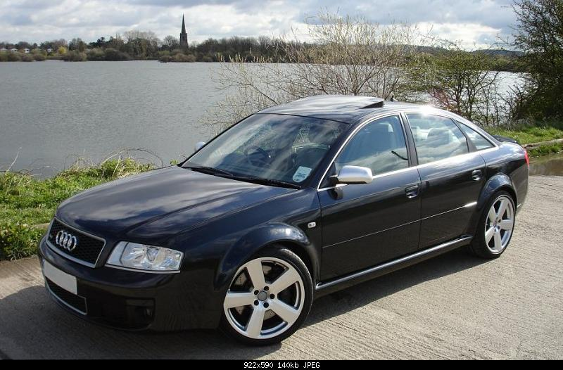 for sale 2003 39 53 audi rs6 saloon with audi warranty. Black Bedroom Furniture Sets. Home Design Ideas