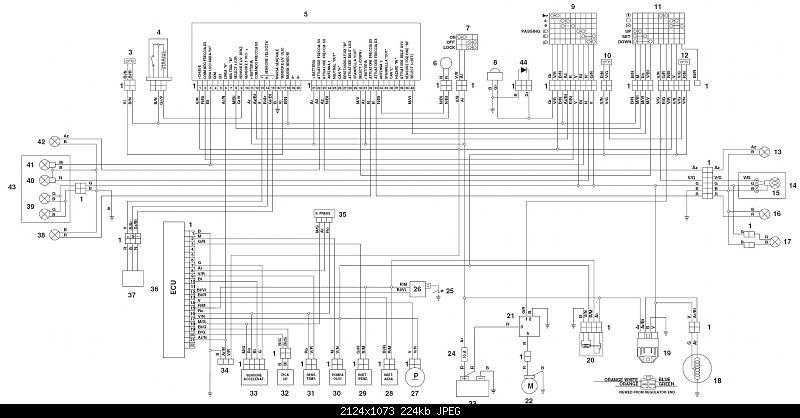 High resolution copy of the wiring diagram Aprilia Forum