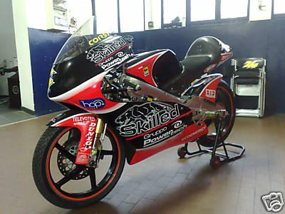 Honda For Sale >> Simone Corsi's 2007 Aprilia RSW 125 for sale..