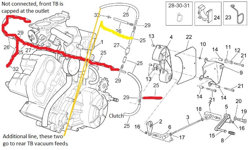 Attachment on Scooter Vacuum Line Diagram