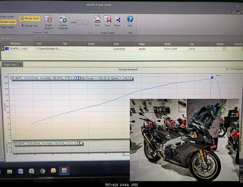 Click image for larger version.  Name:2019 RSV4 1100F Stock Dyno - Copy.jpg Views:105 Size:99.7 KB ID:380898