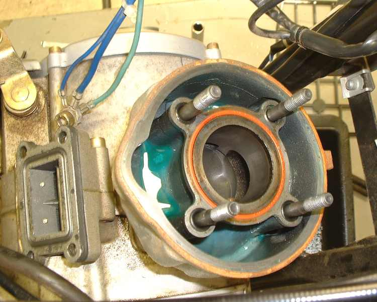 aprilia sr 50 cylinder